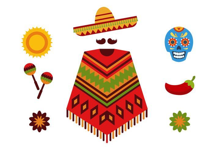 Mexican Icon Set.
