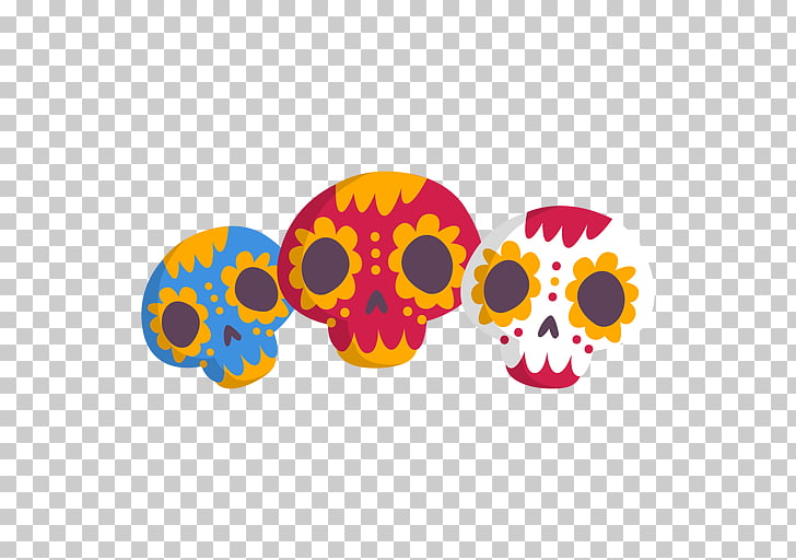 Mexico City Computer Icons , mexican, several skull.