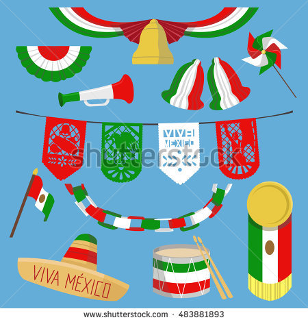 Mexican independence day clipart 1 » Clipart Station.
