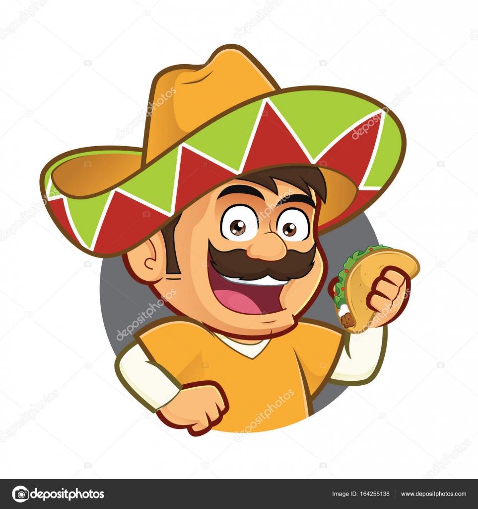 Clipart: taco man.