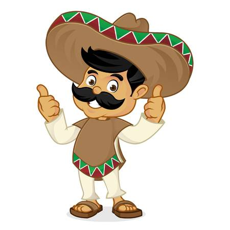 5,625 Mexican Man Stock Illustrations, Cliparts And Royalty.