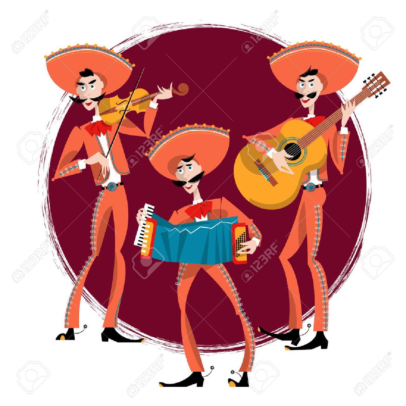 Mariachi band. Mexican traditions..