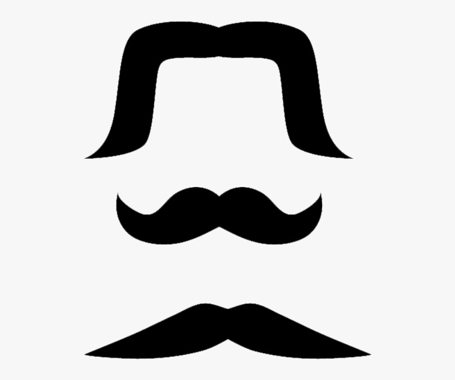 Free Mexican Mustaches Clip Art Transparent Background.