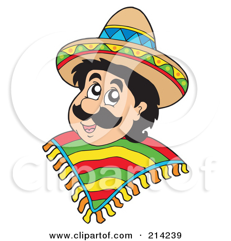 Mexican People Clipart.