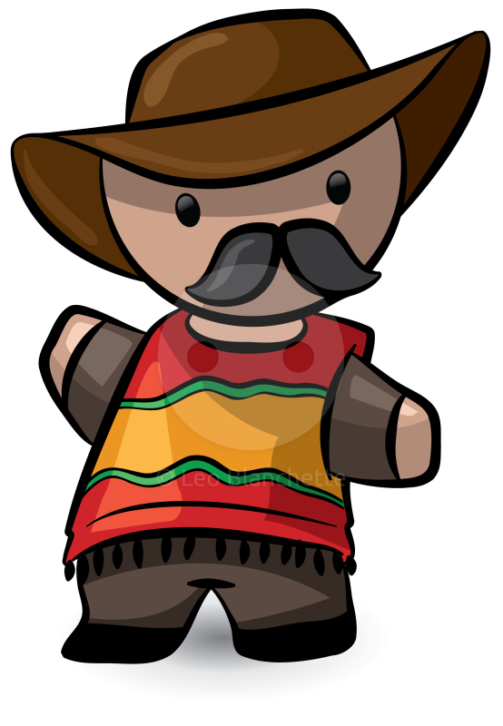 mexican people clipart animation - Clipground
