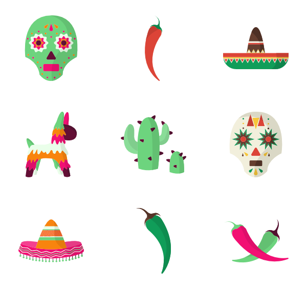 49 mexican icon packs.