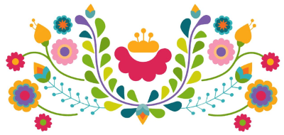 Mexican flower png.