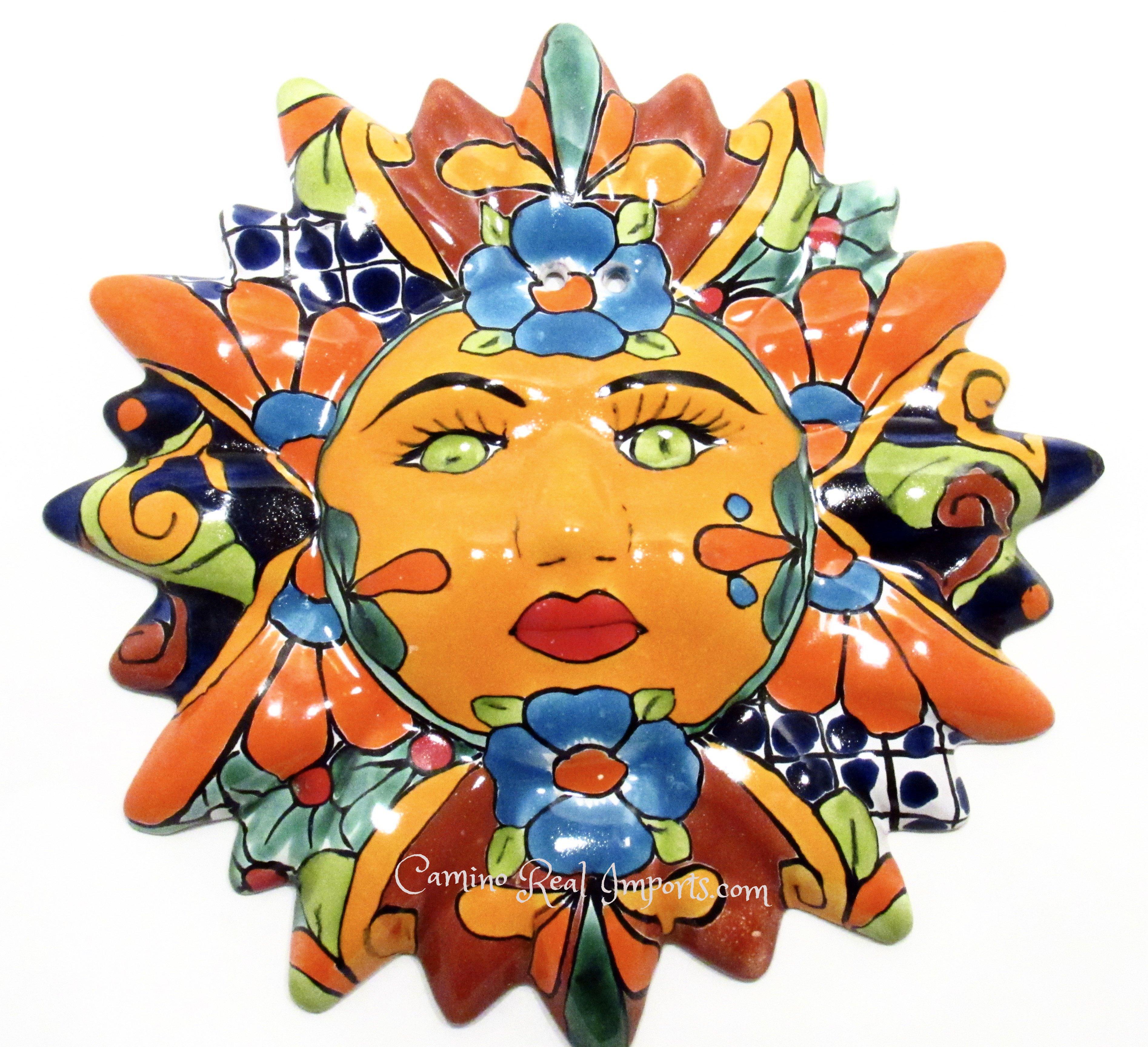 Mexican Sun Clip Art.