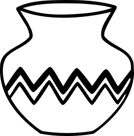 Collection of Pottery clipart.