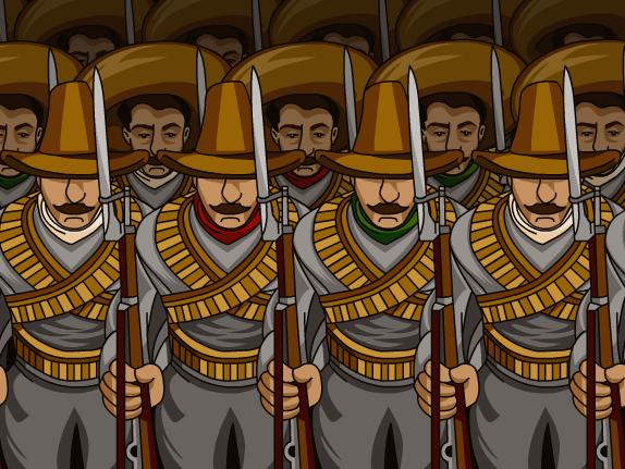 Mexican Revolution Clip Art.