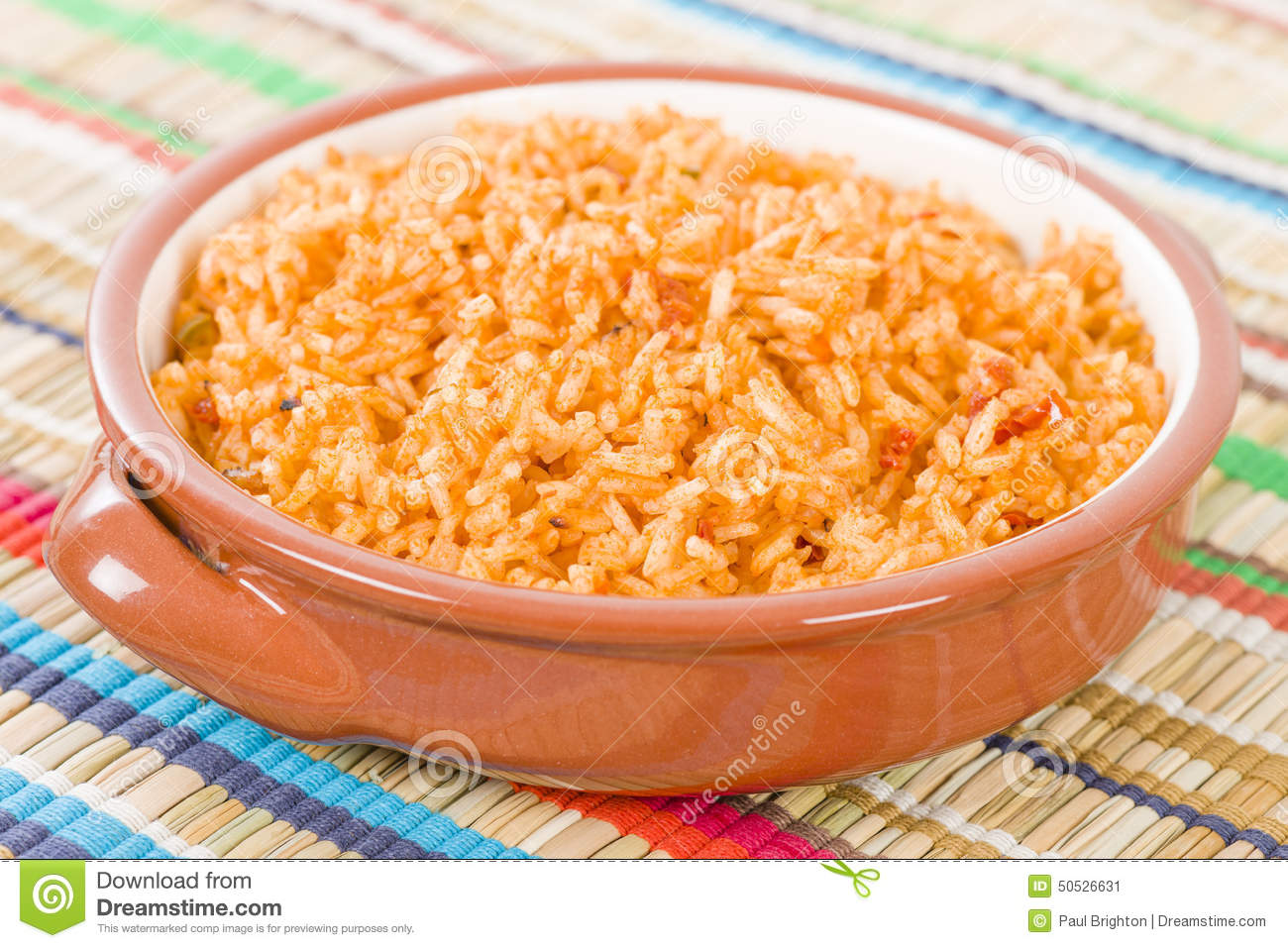 Mexican Rice stock image. Image of dish, chicken, cazuela.