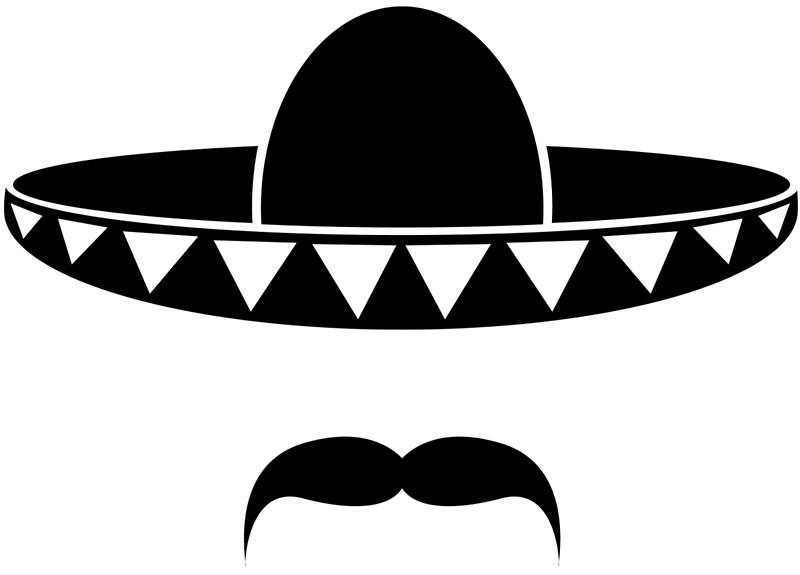 1163 Mexico free clipart.