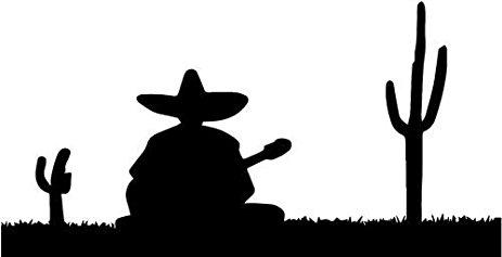 Sombrero Silhouette at GetDrawings.com.