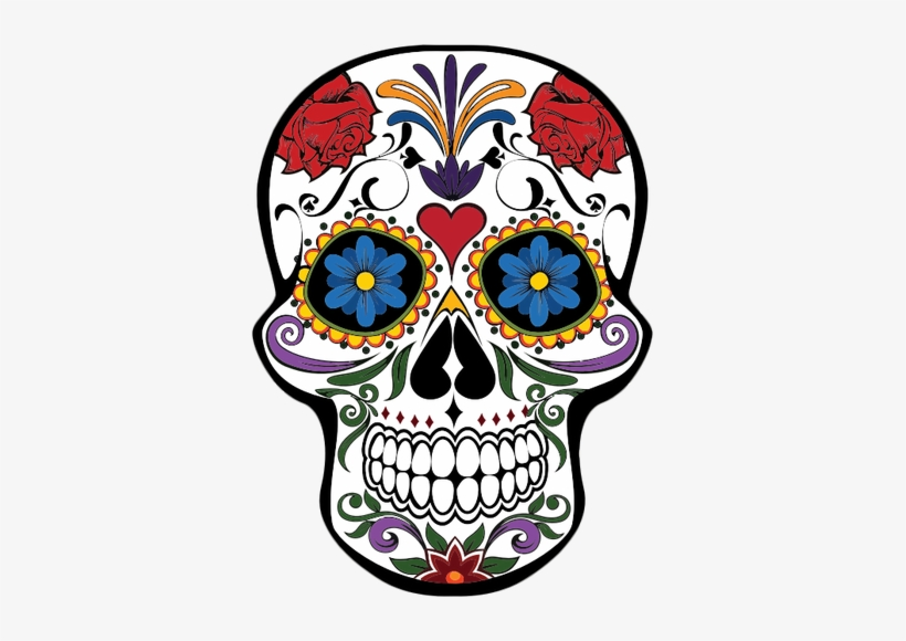 Mexican Skull Vector Png Svg Library.
