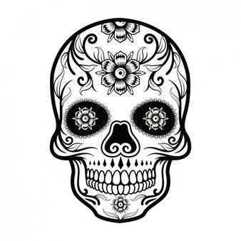 Sugar Skull Vectors, Photos and PSD files.