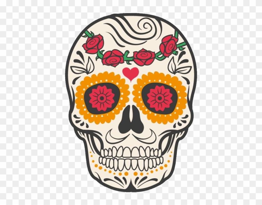 Cuisine Mexican Skull Mexico Calavera Dead Human Clipart.