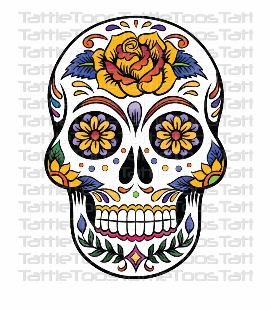 Sugskull 4 Candy Skulls, Sugar Skulls, Mexican Skull.