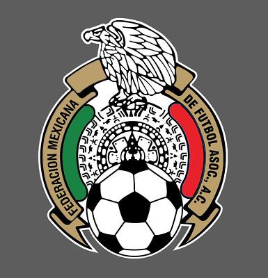 Mexican National Soccer Team Logo Seleccion Mexicana World Cup 2018 Vinyl  Decal.