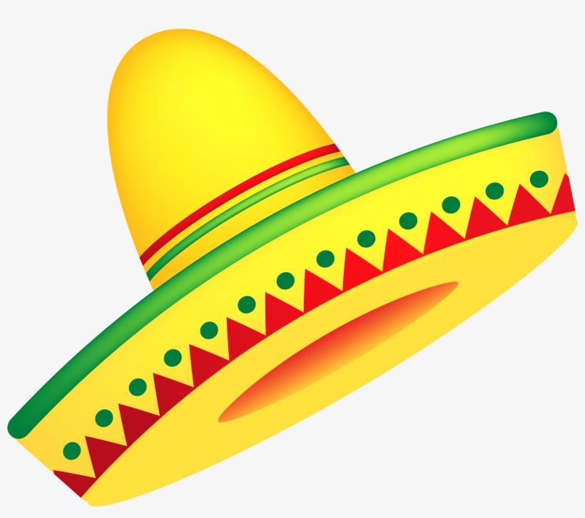 Mexican Sombrero Clip Art.