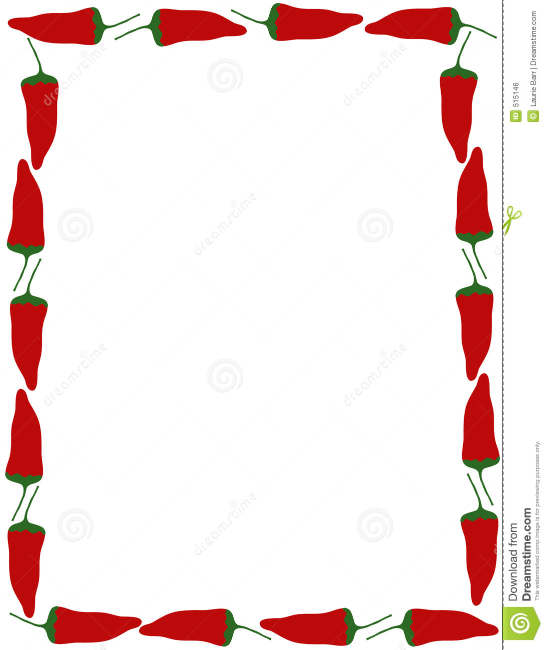 Mexican Style Borders Clipart.
