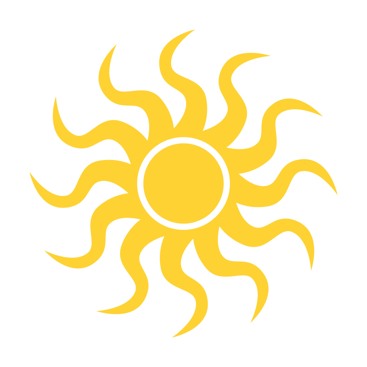 Mexican Sun Clipart.