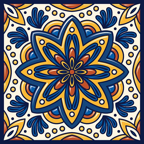 Best Talavera Tile Illustrations, Royalty.