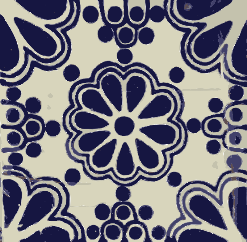 Free Clipart: Mexican tile 02.
