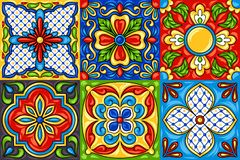 Mexican Tile Stock Illustrations.