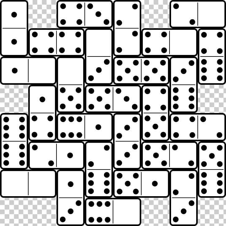 Dominoes Game Domino\'s Pizza Mexican Train , six PNG clipart.