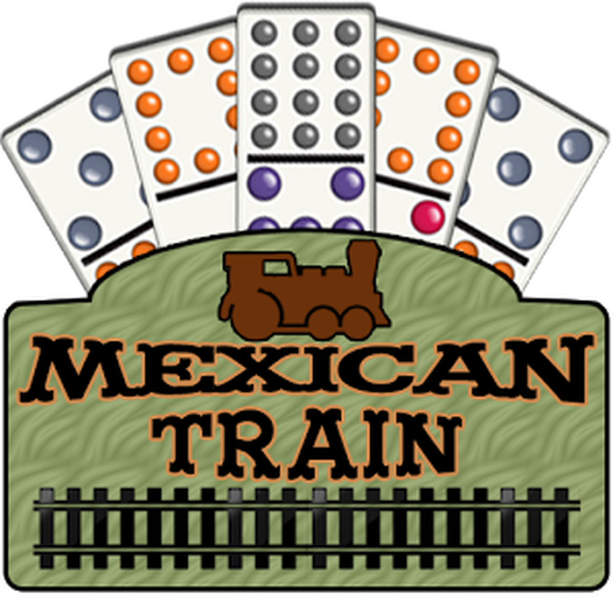 Mexican Train Game.