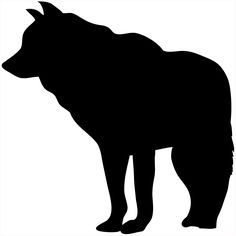 Clipart of , animal, coyote, howl, southwest, wild, wolf.