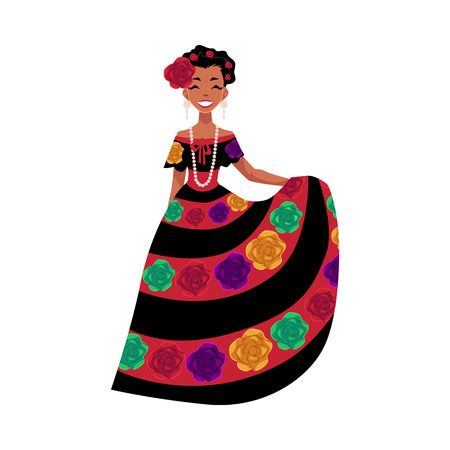 3,321 Mexican Woman Cliparts, Stock Vector And Royalty Free.
