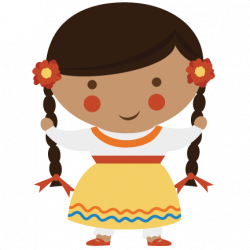 clipart royalty free library Mexican woman clipart.