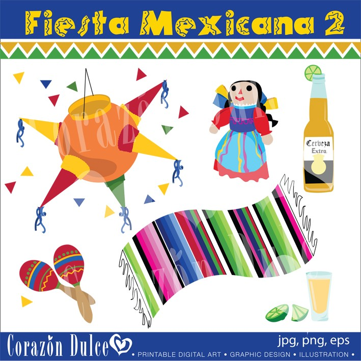 Mexicana Clipart.