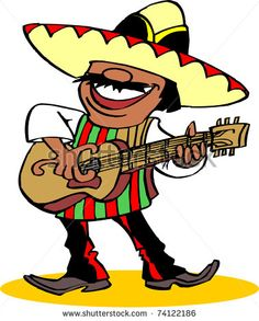 mexican stereotype cartoon.