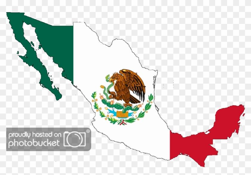 Bandera De Mexico Png.