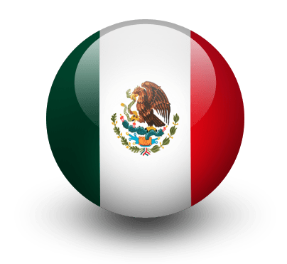 Mexico Flag Icon transparent PNG.