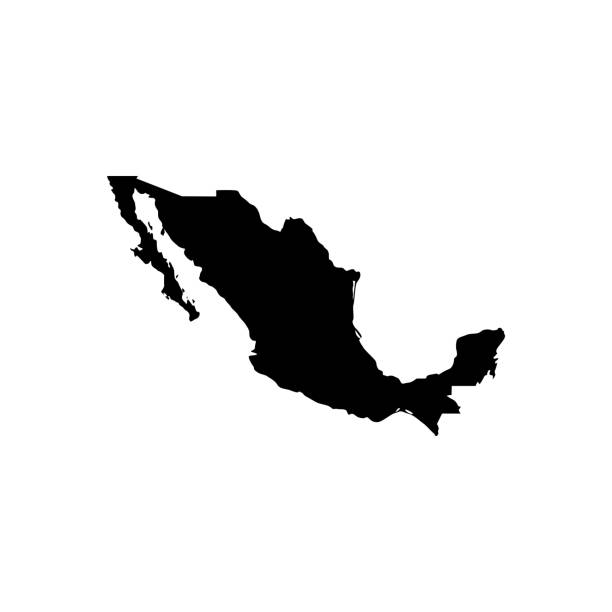 Best Mexico Map Illustrations, Royalty.