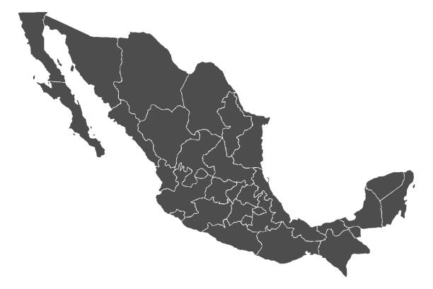 Best Map Of Mexico Illustrations, Royalty.