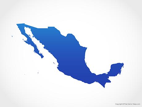 Vector Maps of Mexico.
