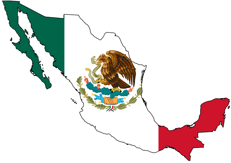 File:Mexico map with flag.png.