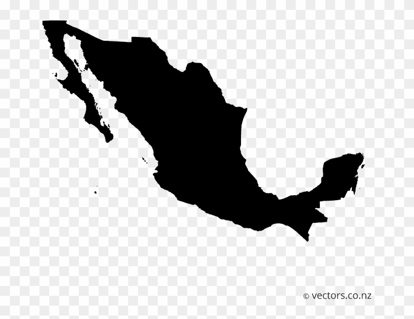 Mexico Map Png Transparent Background.