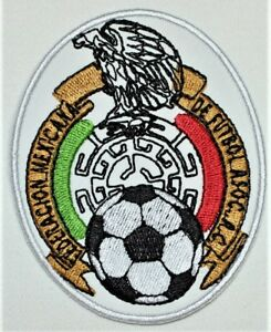 Details about FIFA Mexico Soccer team Logo Iron.