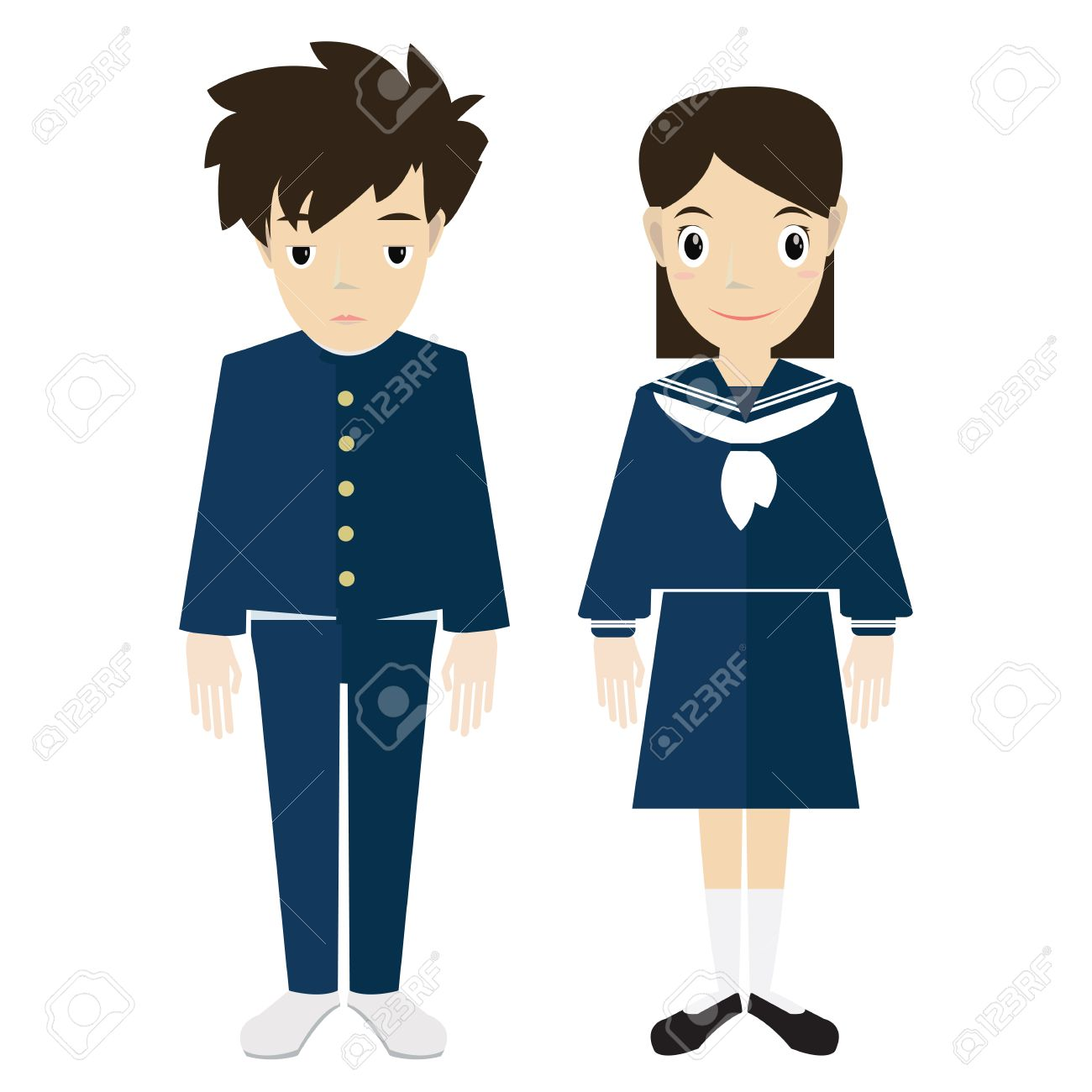 3932 Uniform free clipart.