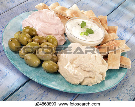Stock Photography of Meze.