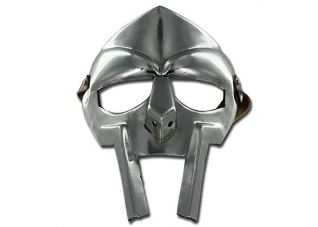 MF Doom Rapper Madvillain Gladiator Mask.