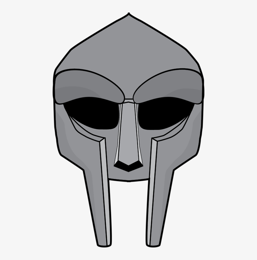 28 Collection Of Mf Doom Mask Drawing.