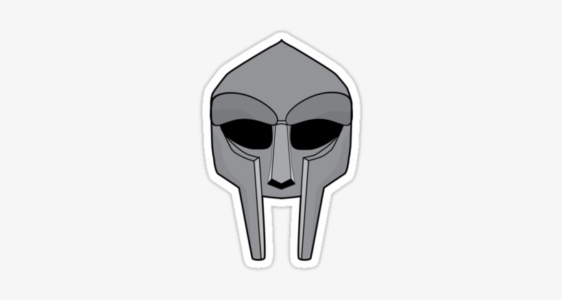 Mf Doom Mask Outline.