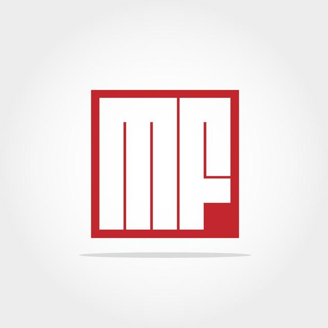 Initial Letter Mf Logo Template Template for Free Download.