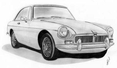 WANTED: MGB GT clip art to use for embroidery : MGB & GT Forum.